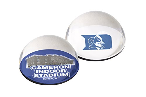 Mascot Crystal Paperweight Pyramid - NCAA Duke Blue Devils Crystal Magnets, 2