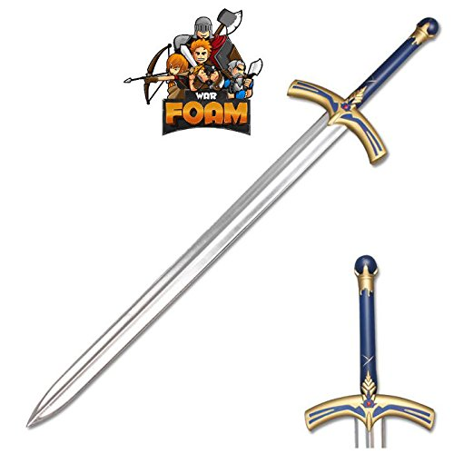 (WarFoam Fate Stay Night Saber Caliburn Fantasy Foam Cosplay Costume Sword)