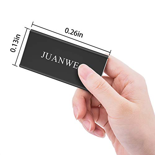 JUANWE 120GB USB 3.0 External Portable SSD, High Speed Read/Write Ultra Slim Solid State Drive - Black by JUANWE (Image #4)