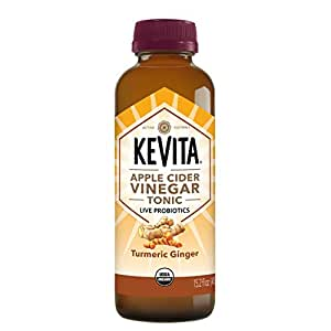 KeVita Apple Cider Vinegar Tonic, Turmeric Ginger, with