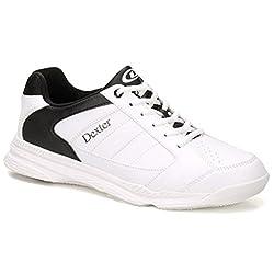 Dexter Men's Ricky Iv Wide Bowling Shoes, Whiteblack, Size 10.5