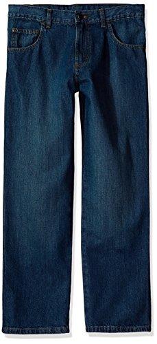 Wrangler Authentics Boys' Relaxed Straight Jean, Larado, 12H