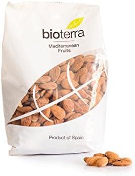 BIOTERRA Almendra Ecológica Española Cruda, Con Piel, Sin Gluten ...