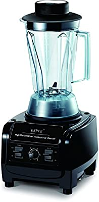 Enpee Commercial Grade Food licuadora Smoothie Hot Soup Maker Ice ...