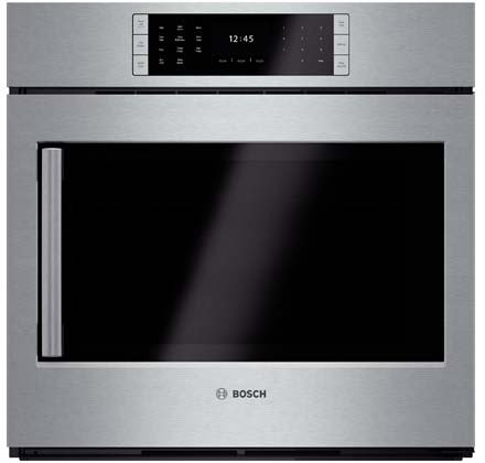 Bosch HBLP451RUC: 30'' Single Wall Oven Right Swing Door Benchmark Series - Stainless Steel by Bosch