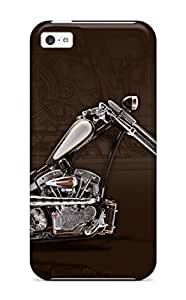 New Snap-on KarenStewart Skin Case Cover Compatible With Iphone 5c- Chopper