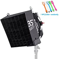Aputure Easybox+ Softbox Easy EZ Box+ Diffuser Kit & Grid for 528 & 672 Lights+HuiHuang free gift