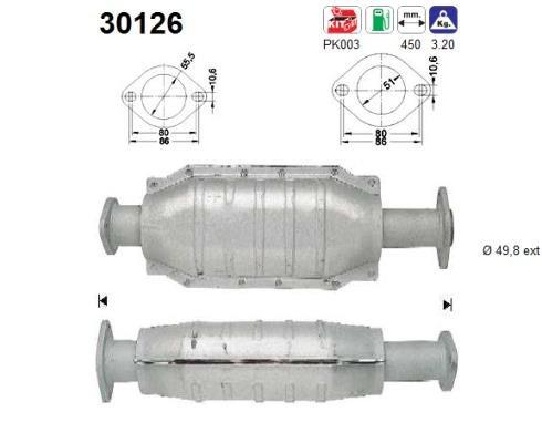 Katalysator u.a. fü r, Renault | Preishammer | Katalysator | Abgasanlage