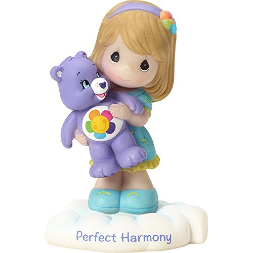 Precious Moments Company 163411 Precious Moments, Care Bears, Perfect harmony, Resin Figurine, 163411,Multi