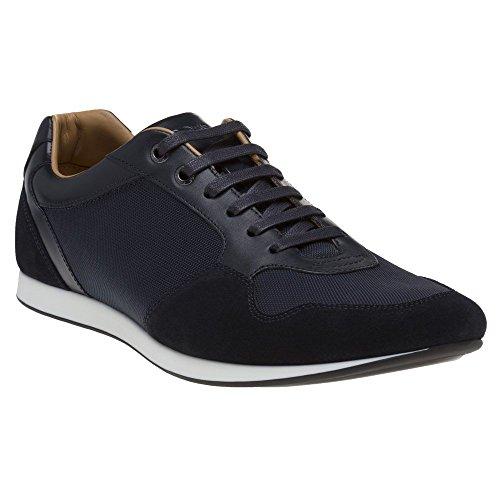 Uomo Lowp BOSS Sneaker Blu Fulltime w8z6xCqYPn