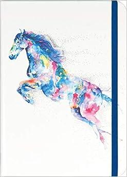 Watercolor Horse Journal
