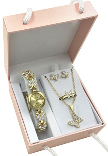 Gold-Butterfly-Watch-Jewelry-Christmas-Gift-Set-for-Her-Women-Girlfriend-Wife-Sister-Daughter