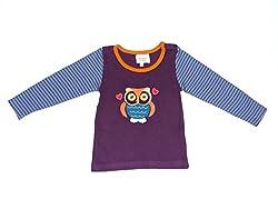 Origany Baby Girls' Zoo Time T-Shirt 0-3M Mauve