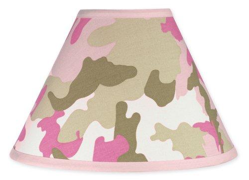 Sweet-Jojo-Designs-Lamp-Shade-Pink-and-Khaki-Camo-Army-Camouflage