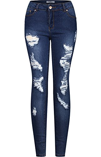 2LUV - Vaqueros - para mujer Denim Medium2