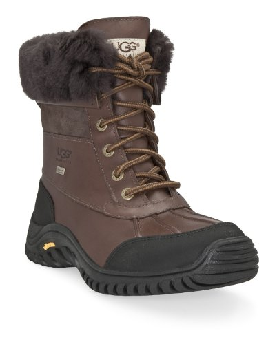 Womens Casual Ugg Boots - UGG Women's Adirondack II Winter Boot, Obsidian, 7 B US