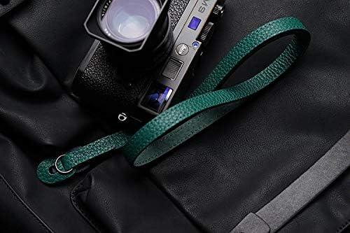 Mr.stone Handmade Genuine Leather Camera Strap Camera Shoulder Sling Belt Fine Shoulder Strap Double-Sided Leather(WJG005)