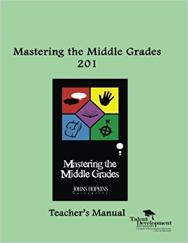 Book Mastering the Middle Grades 201 Teacher's Manual by Garriott Maria (2011-08-03)