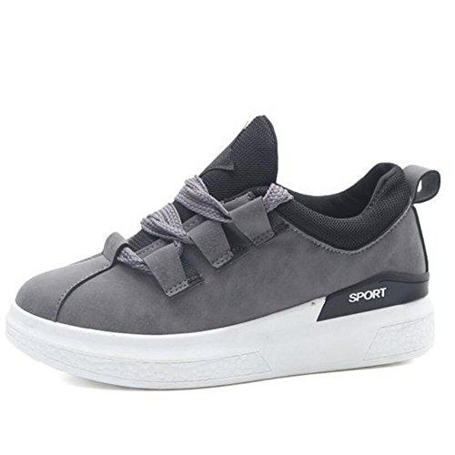 Gray Rosa al de deportes Negro primavera GAOLIXIA libre Zapatos estudiantes para cómodos gris aire de Zapatos mujer Zapatos para tPfUvZ