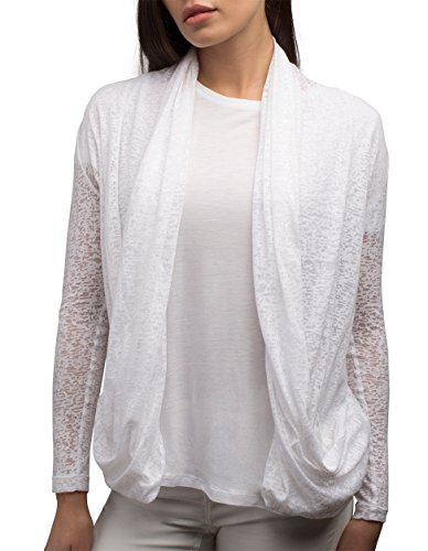 SCOTTeVEST Women Lucy Cardigan - Travel Clothing for Women - Sheer Cardigan (CLD L) ()