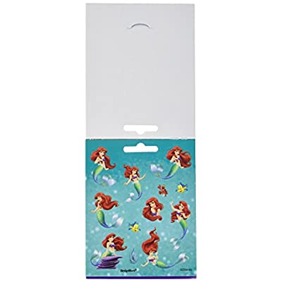 Disney Little Mermaid Sticker Booklet | Party Favor: Toys & Games
