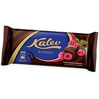 [Paquete De 2] Estonian Kalev Chocolate Negro Con