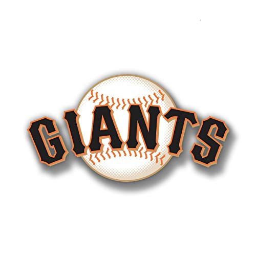 (SAN Francisco Giants Baseball car & Truck Vehicle Decals/Stickers 4 Inches Wide)
