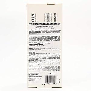 John Frieda Clear Shine Gloss, 6.5 Ounce Shine Enhancing Glaze, Designed to Fill Damaged Areas for Smooth, Glossy Hair