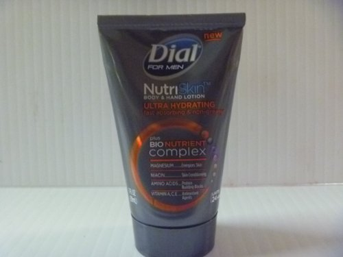 New Dial For Men Nutriskin Body And Hand Lotion  1 Oz Size