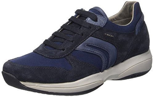Geox Uomo Xand a, Men's Flatform Pumps Blu (Navy)