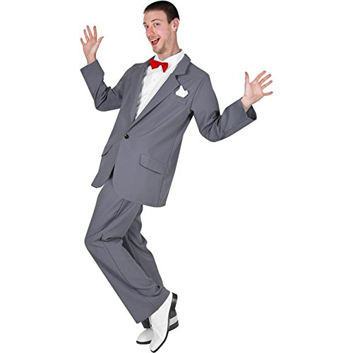 Fun Plus Adult Pee Wee Herman Costume]()