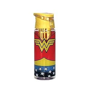 Spoontiques Wonder Woman Logo Infuser Water Bottle, , Multi