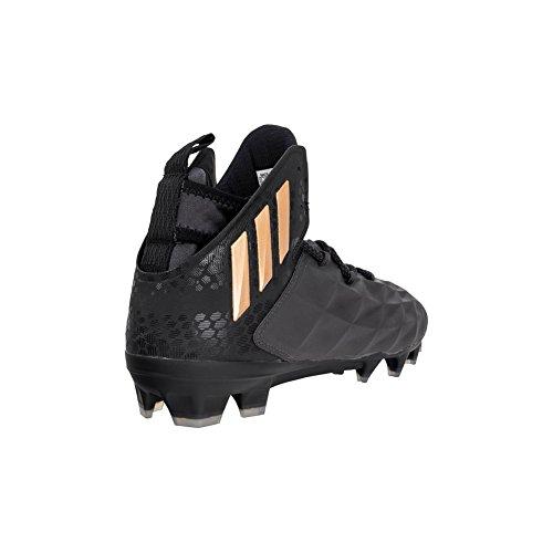 Adidas Frik Lax Midten Av Klossen Unisex Lacrosse Svart-kobber Metallic-svart