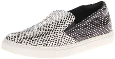 Kenneth Cole New York Women's King Dot Snake Fashion Sneaker,Black/White,5 M US