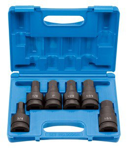 1 DR 6 PC HEX DRV Set (GRY-9096H) by Grey Pneumatic