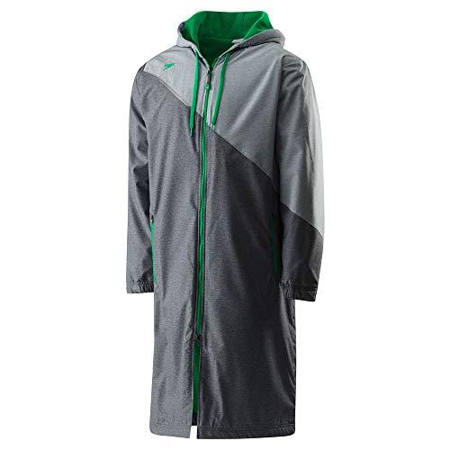 Speedo Unisex Color Block Parka Jacket, X-Small , -
