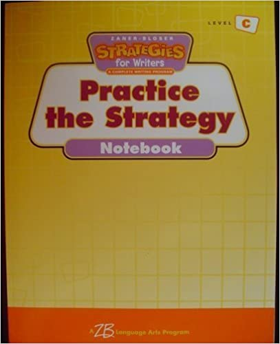 Practice the Strategy Notebook 3
