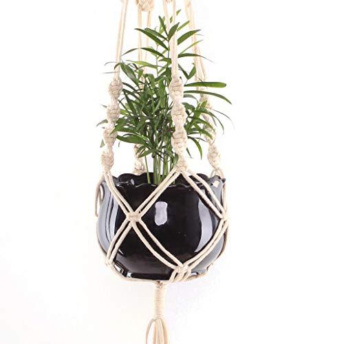 iuchoice   Macrame Plant Hangers Hanging Basket Hanging Plant Holder Bohemian Decor Plant