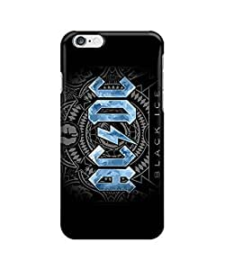 """Ice black dc acdc concept art ?custom iphone 6 Plus 5.5 inches case,durable iphone 6 Plus hard full wrap back case cover for iphone 6 Plus 5.5"""""""
