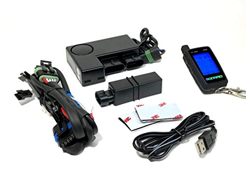 4. Scorpio SRX-900 Hands-Free Motorcycle Security System