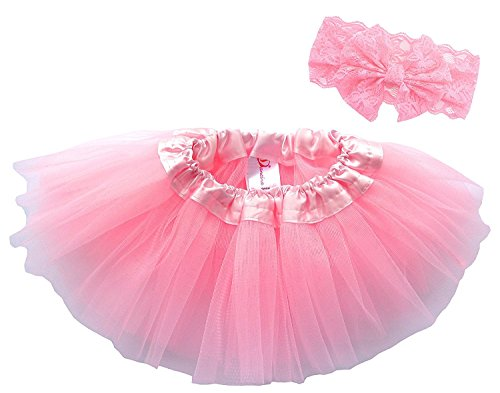Dancina-Baby-Girls-Toddlers-Tutu-with-Matching-Headband-Set-6-months-to-4-yrs