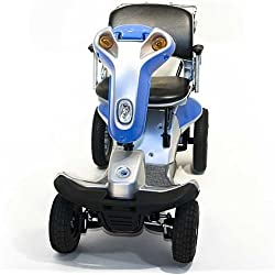 Hummer XL Titan 4-Wheel Electric Scooter BLUE + Challenger Mobility Accessories
