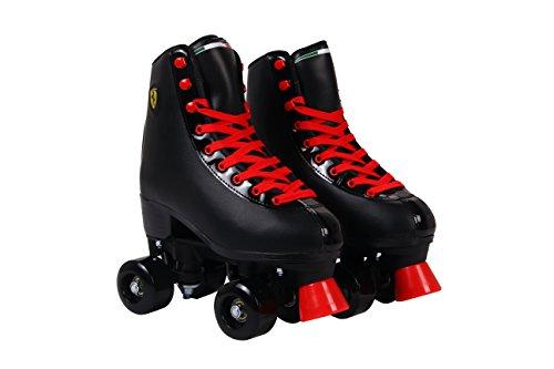 Ferrari Classic Roller Skates, Black, Size 39 ()