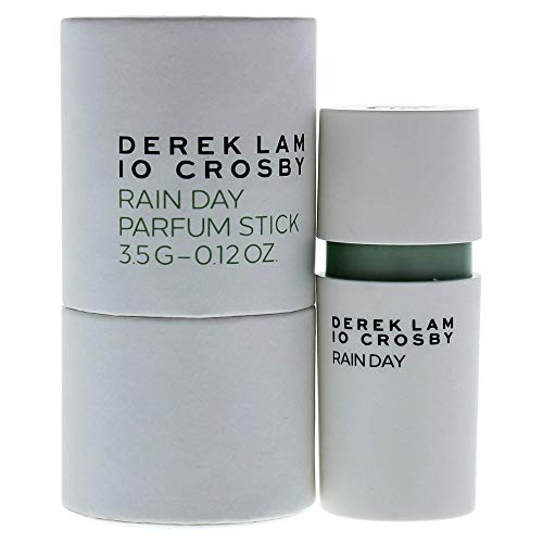 Derek Lam 10 Crosby   Rain Day   Eau De Parfum   Woody and Aromatic Scent   Solid Stick Perfume for Women   0.12 Oz