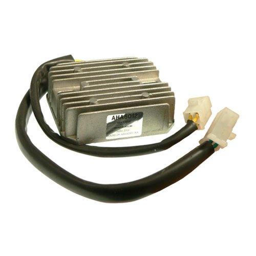 DB Electrical AHA6012 New Voltage Regulator For Honda Cx650T Turbo, Vf1100C, V65 Magna, Vf500F Interceptor, Magna, Vt500Ft Ascot, Shadow, Kawas Bayou 300 ESP2310 31600-MA1-008 31600-MB1-008 - Vt500ft Honda Ascot