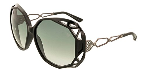 SWAROVSKI for woman sk0022 (BEAUTIFUL) - 01B, Designer Sunglasses Caliber (Swarovski Logo Sunglasses)