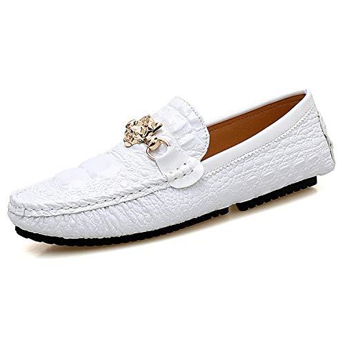 Successg Plus Pigri Uomo Argento Uomo Moda Size Casual Scarpe Silver Mocassini Fondo Scarpe Footwear Scarpe Flats in Nero Uomo Gomma Designer 47 Uomo TTwr5vZq