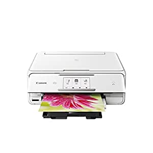Canon PIXMA TS8020 Wireless Inkjet All in One Printer, White