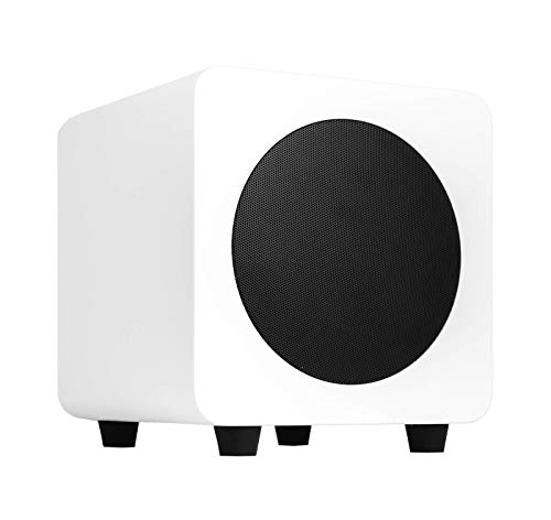 Kanto SUB6 6-inch Powered Subwoofer – Matte White