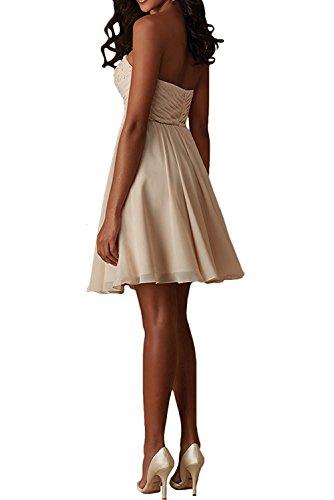 Cocktailkleider Spitze Festlichkleider Orange Braut mia La Herrlich Lilac Mini Traegerlos Abendkleider Herzausschnitt Partykleider w8Ff8q4Bx